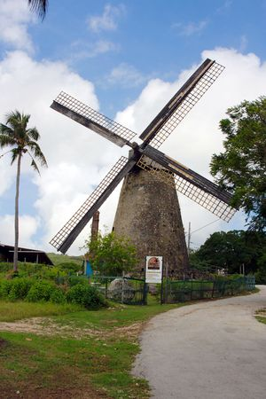 barbados: Morgan Lewis Mill (St. AndrewBarbados) - the only intact and restored sugar mill