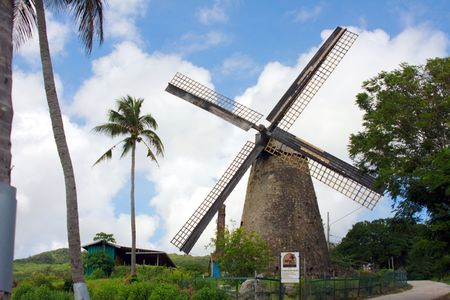 Morgan Lewis Mill (St. Andrew/Barbados) - the only intact and restored sugar mill