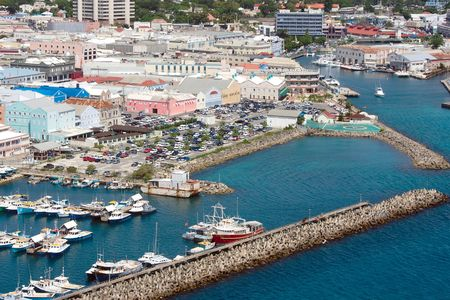 View Of Bridgetown (Bridgetown/Barbados) Stock Photo
