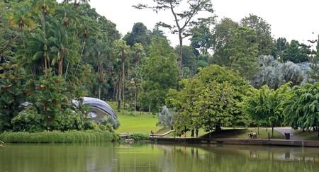 Concert Hall in Botanical Garden in Singapore