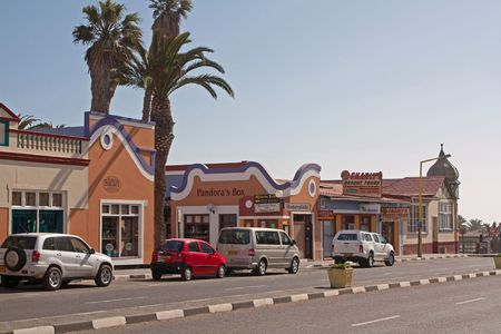 Swakopmund, a town on the coast, Namibia, Oktober 2009