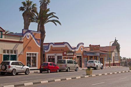 swakopmund: Swakopmund, a town on the coast, Namibia, Oktober 2009