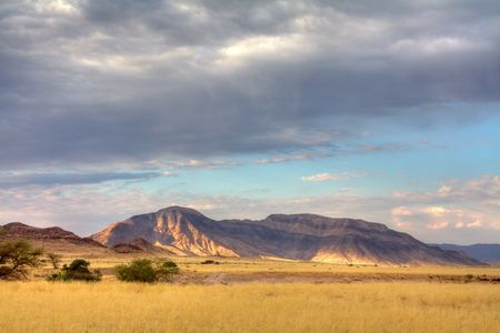 Landscape in Namibia;