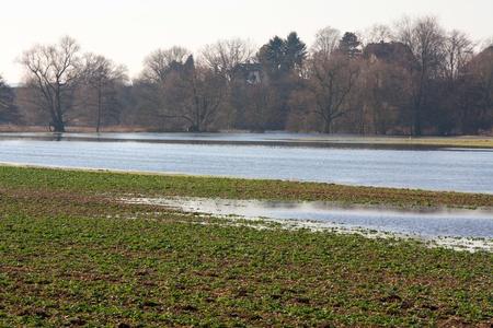 hessen: Flood in Hessen, Germany,