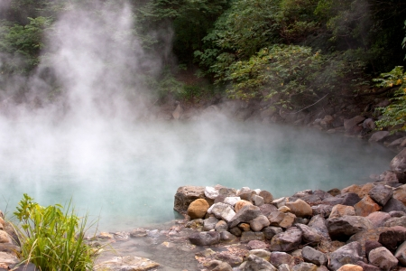 Hot Springs in Beitou, Taipei, Taiwan;