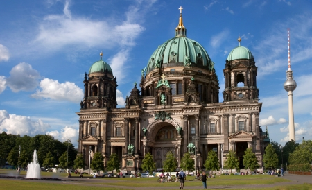 Dome of the Berlin Cathedral, Berlin, Capital, Germany