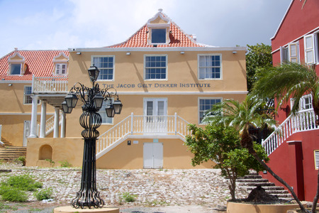 Willemstad in Curacao, photographed in October 2018;