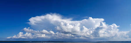 cloud formation photographed in Borneo near Sandakan Stock Photo