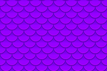 Seamless pattern of colorful violet purple fish scales vector illustration