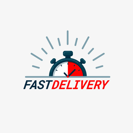 Fast delivery icon.