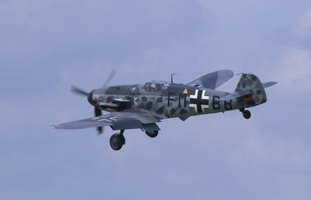 messerschmitt bf 109 Stock Photo