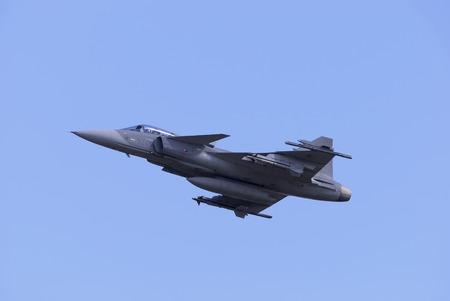 swedish supersonic fighter