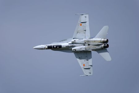스페인 공군에서 봉사하는 우리 해군 전투기
