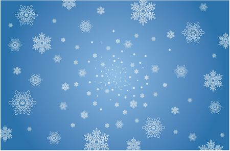 blue christmas background with stars photo