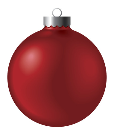 christmas ball - no mesh, blend and gradient only