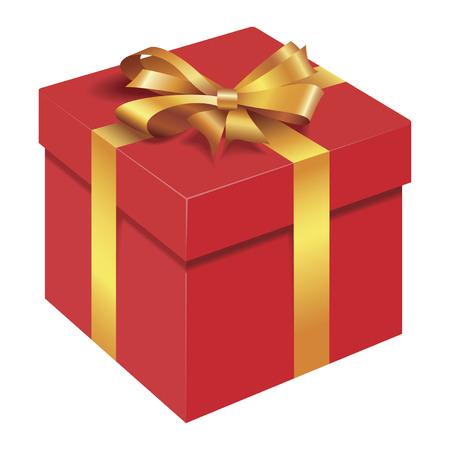 격리 된 선물 상자
