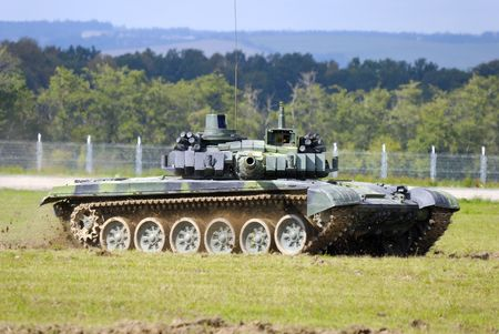 tracked: T-72 M Stock Photo