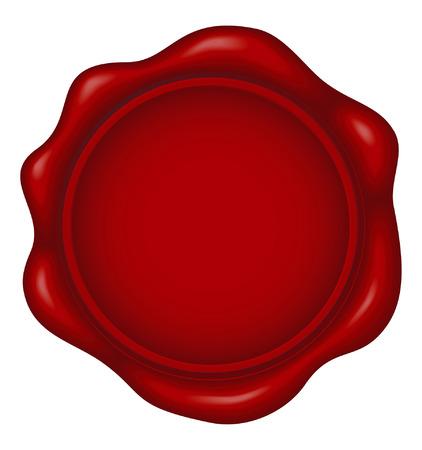 impress: sigillo di cera  Vettoriali