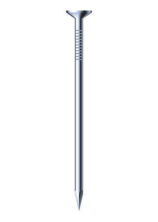 ballen: Stahl Nagel