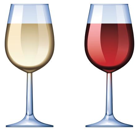 와인 글라스 - 혼합 및 그라디언트 전용 일러스트