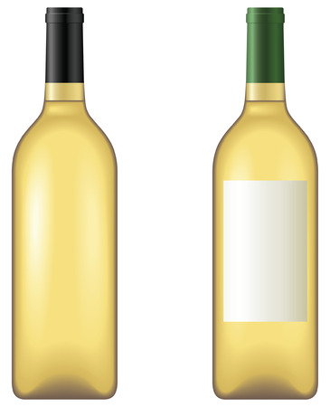 White wine - blend and gradient only