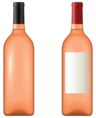 로즈 와인 - 블렌드 및 그라데이션 전용
