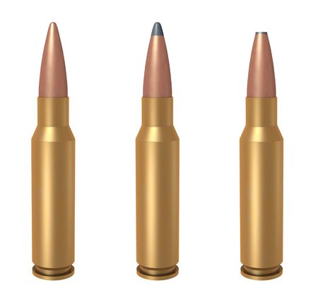 7.62 mm bullet Stock Photo - 5799601