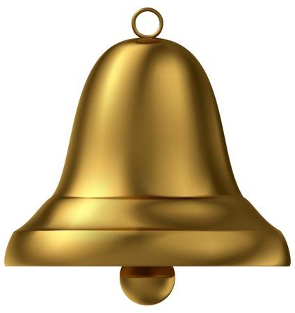 handbell: Golden bell