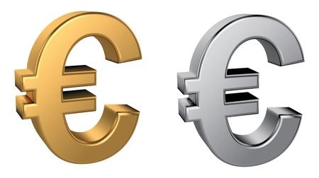 Euro-Zeichen Standard-Bild - 21492721