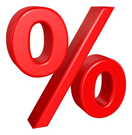 percentual: Percent sign - RGB vector