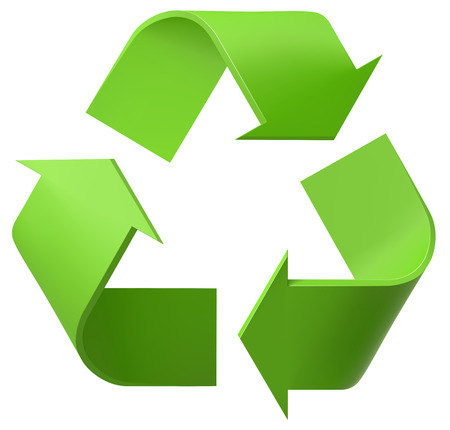isolated: Recycle logo