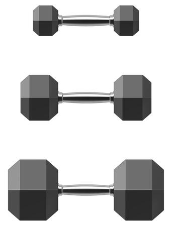 Hexagonal dumbbell