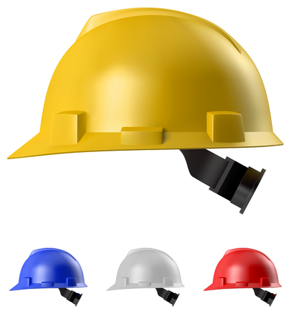 orthographic: Safety helmet