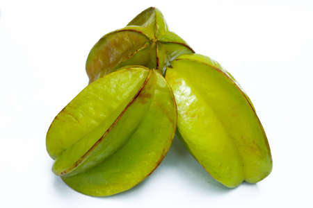 Carambola fruit is a sour and sweet food and pure vitamin C