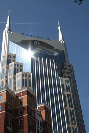 batman: Batman Building-Nashville, TN Stock Photo