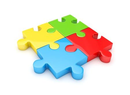 oppose: Puzzle Stock Photo