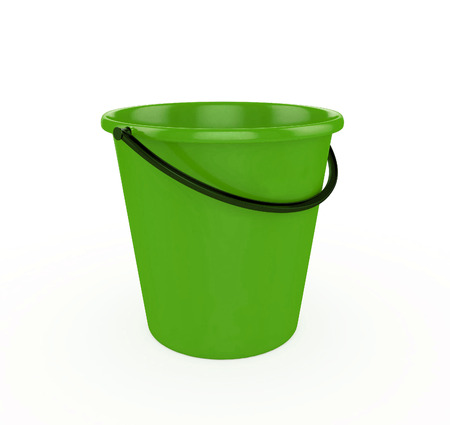 bails: 3d Green Bucket