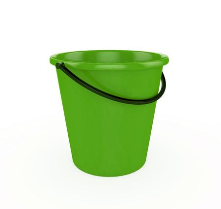bails: 3d Green Bucket
