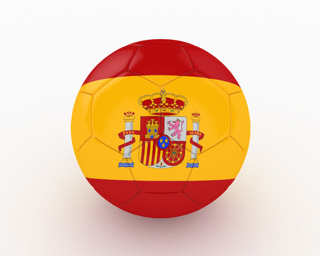 favorable: 3d Spain Soccer Ball - isolated