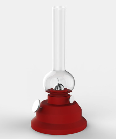 folksy: 3d Ramadan Lamp - isolated Stock Photo