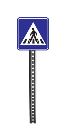 licence: Traffic Warning Signboard - isolated