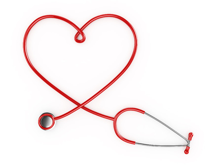3d Heart Shaped Stethescope photo