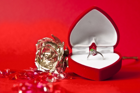 Engagement composition Stock Photo - 22545048