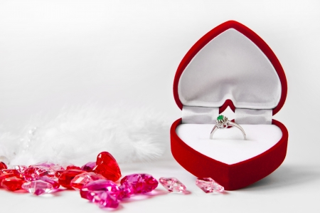 Engagement composition  Stock Photo - 22545049