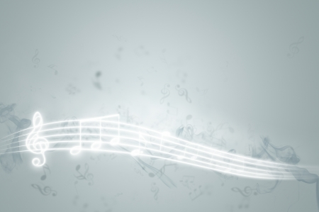 Music background - gray