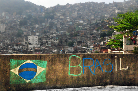 Favela Rocinha, Rio de Janeiro, Brazil