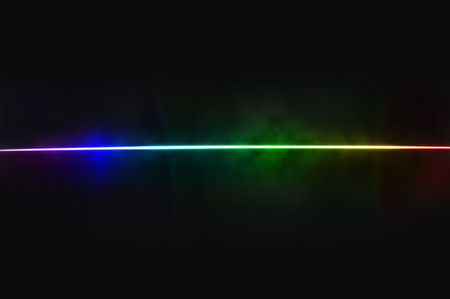 chromatic colour: Abstract black background - light dispersion