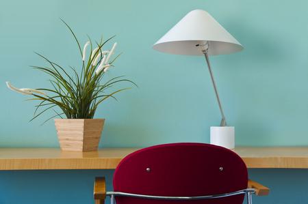 Working desk in a modern office - minimalist design