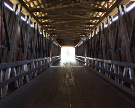 l'intérieur du pont Banque d'images - 4815269
