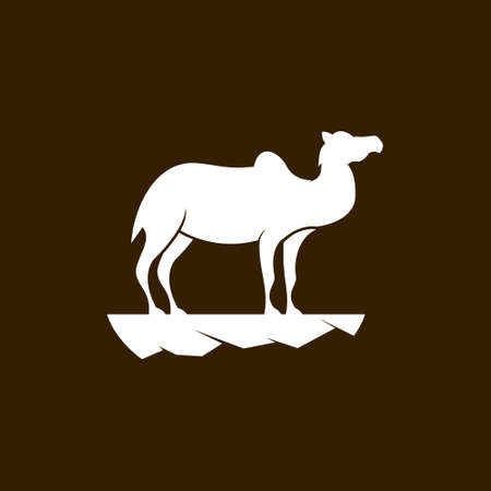 This is a camel logo template